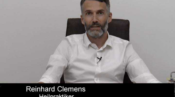 Reinhard Clemens, Heilpraktiker